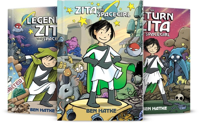 The Zita the Spacegirl Series