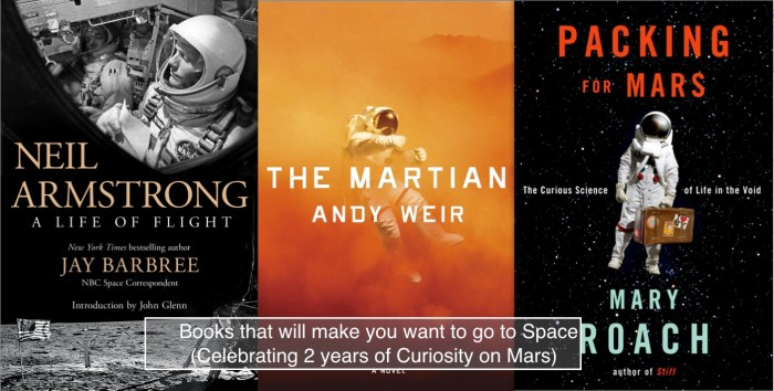 Books that make you want to go to space