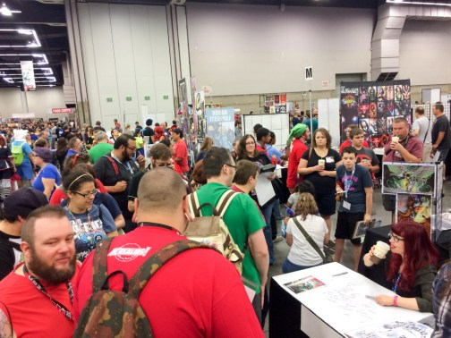 Long line for Kelly Sue DeConnick