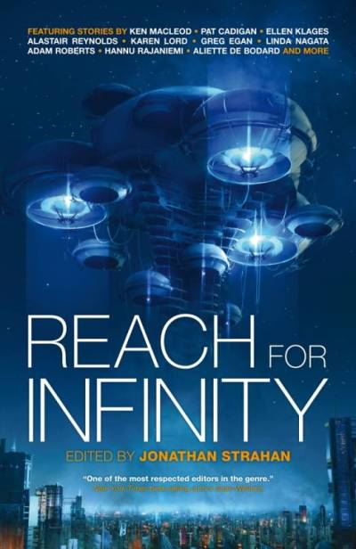 reach for infinity book cover