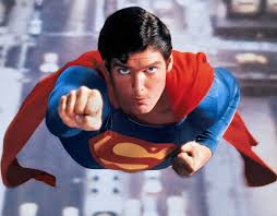 Superman Superman Christopher Reeves flying