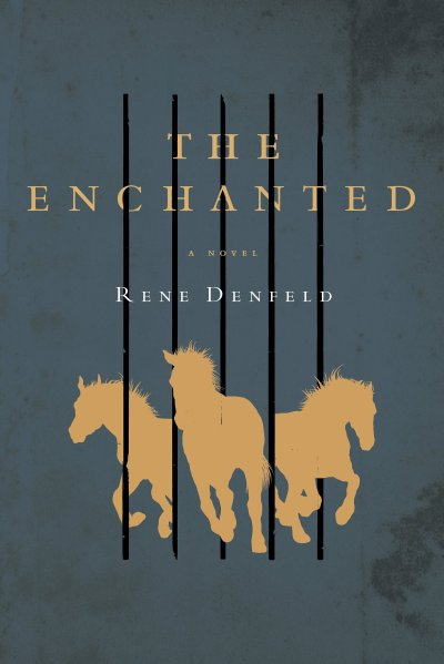 Although I misinterpreted this book, the beautiful cover art of The Enchanted is a perfect match after reading it.