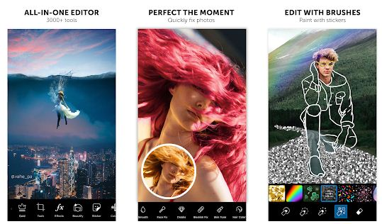 best photo editing app on android