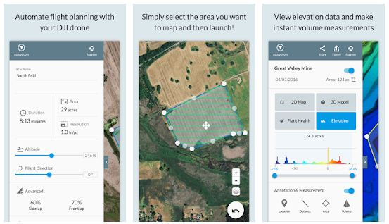 Top 10 Best drone app – make your drone flight route safe in