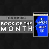 BOOK OF THE MONTH (Oct '16): Murder List by Julie Garwood