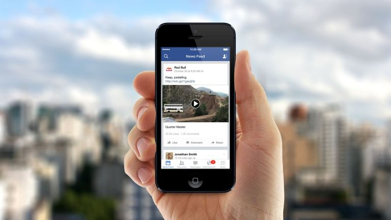 Facebook testing videos that autoplay with sound turned on.