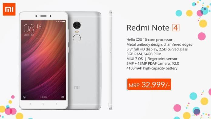 Xiaomi RedMi Note 4 Nepal