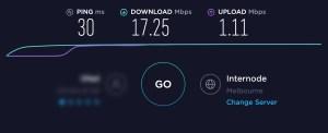 ADSL2+ Speed Test
