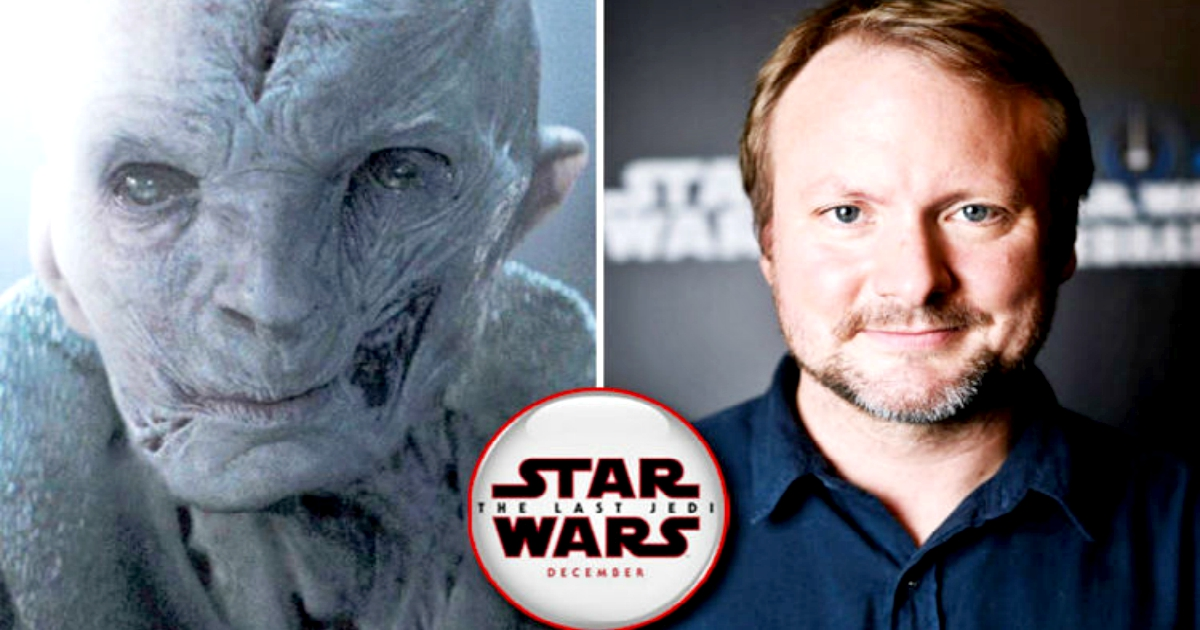 Rian Johnson Explains Why He Left Out Snoke's Backstory In The Last Jedi