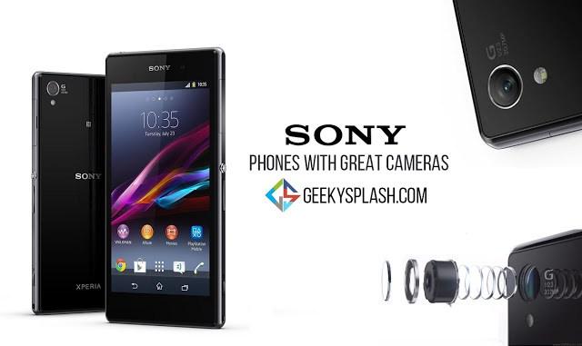 Sony-phones-with-great-cameras-GeekySplash