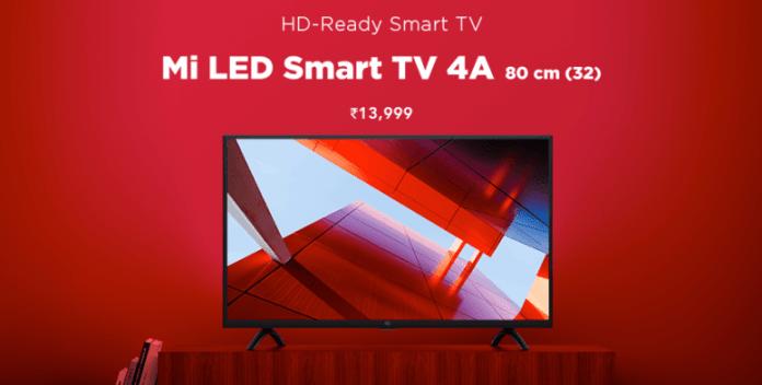 Mi LED Smart TV 4A (32)