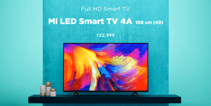 Mi LED Smart TV 4A (43)