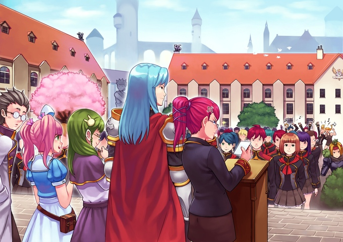 This Magical School Anime JRPG Simulator is Everything - and it needs your help!