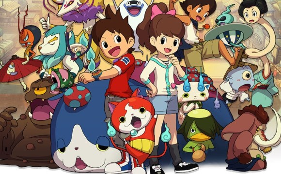 Yo-Kai Watch, Games like Pokemon, English Release Date, What is Yo-Kai Watch, Nintendo 3DS, Nintendo, Monster Taming, Pokemon, Pokemon Clone, RPG, JRPG, Anime, Virtual Pet, Multiplayer, Pokemon Battles