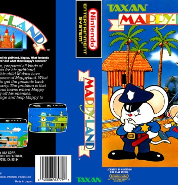 Mappy, Mappi, Mappyland, Mappy Land, 8bit, 8 Bit, Nintendo, NES, 8bit NES, 8 bit NES, 8bit Nintendo, 8 bit Nintendo, Famicom, Retro Game, Retro, 80s, 80s Nintendo, 1980, 1980 Nintendo, 1986 Nintendo, 1986 Nintendo, 1986 Nintendo Game, 1986 Nintendo Games, Mice, Mouse, Play as Mice, Play as Mouse, Animals, Cute, Kawaii, Oldschool, Retro, Adorable, Charming, Game like Mario, Games like Mario, Game like Sonic, Games like Sonic, Platform, Platformer, Platform Game, Console Game, Console, Mascot, Mascot Game