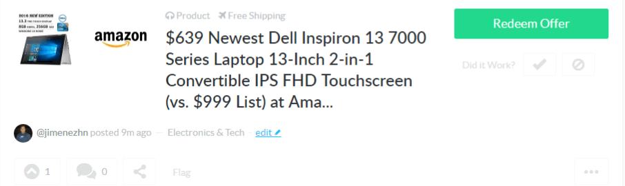 Dealspotr info