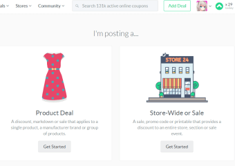 Dealspotr Product Deal or Sitewide Sale?
