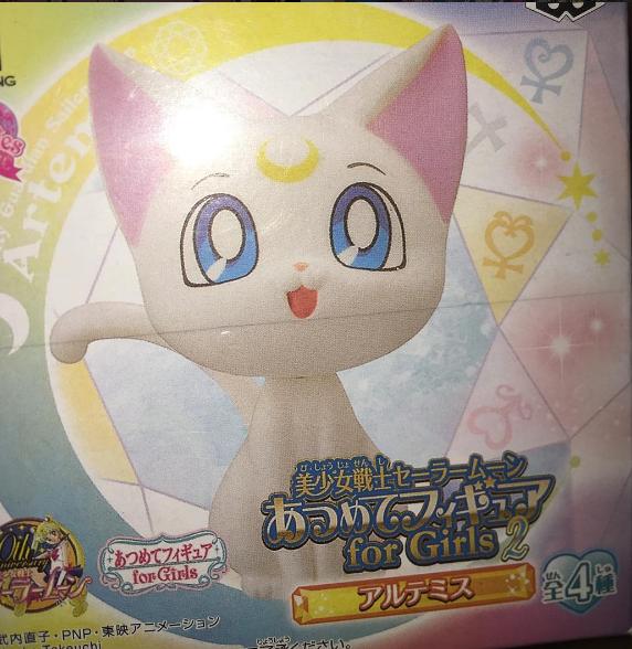 Boxychan Anime Subscription Box - June Boxychan Unboxing Photos - Sailor Moon Blind Box Figure - Sailor Moon Figurine - Sailor Moon Blind Box - Artemis - Artemis Blind Box Figure