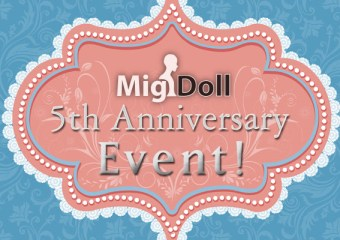 ABJD, Asian Ball-jointed Doll, Asian Ball-jointed Dolls, BJD, Ball-jointed Doll, Ball-jointed Dolls, Balljoint Doll, Balljointed Doll, Balljoint Dolls, Balljointed Dolls, Migidoll, Migidoll Discount, Migidoll Event, Migidoll Anniversary, New BJD, Limited Edition, Limited, Limited Edition BJD, Free BJD, Free Asian Balljointed Doll, Free ABJD