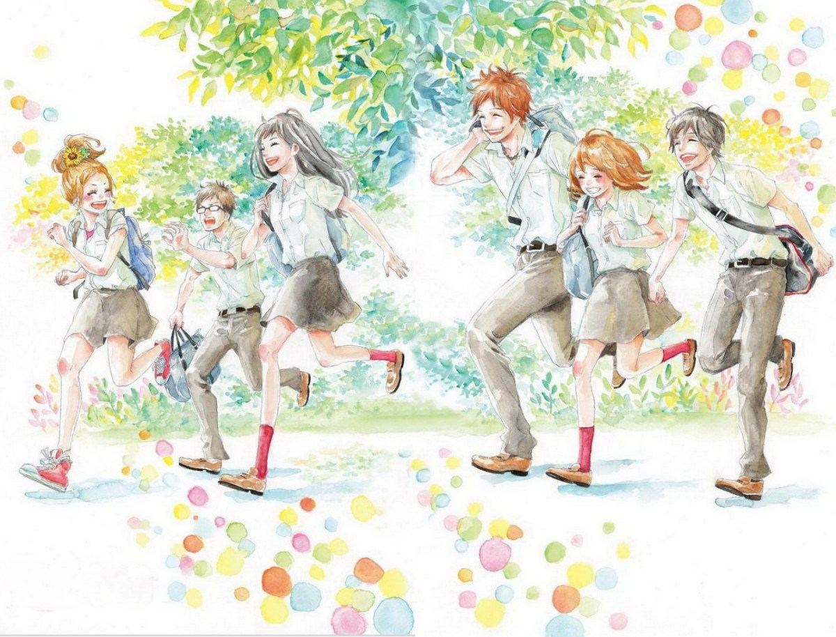 Orange Manga Review + Crunchyroll Begins Airing Orange Anime Based on the Manga by Ichigo Takano