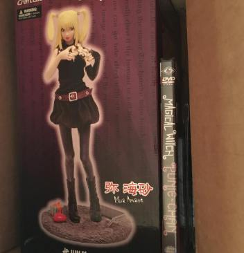 Boxychan September Unboxing Review Jun Planning Death Note Misa Amane Figure