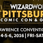 Wizard World Returns to Pittsburgh, PA November 4-6, 2016