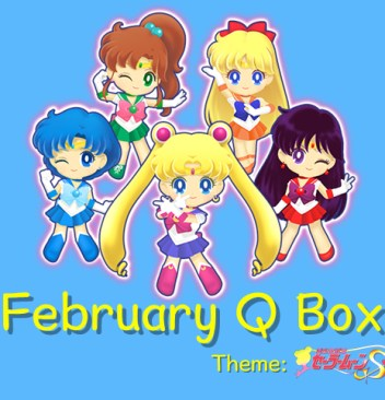 Sailor Moon Officially Licensed Merchandise in February 2017 Qbox Kawaii Shoujo Anime Monthly Subscription Box