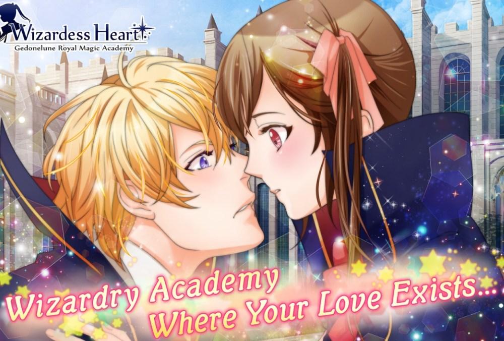 Anime Otome Game Like Harry Potter - Wizardess Heart+