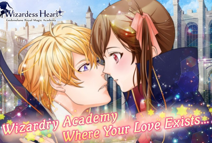 Anime Otome Game Like Harry Potter - Wizardess Heart+