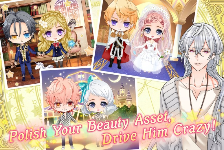 Wizardess Heart Dressup Game