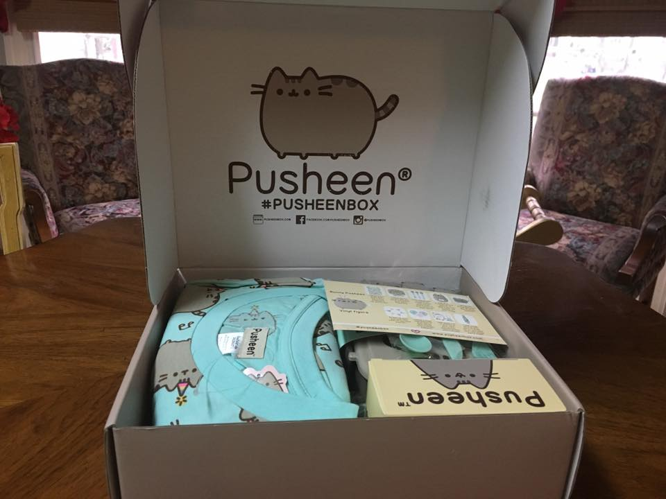 Pusheen 2017 Spring Box Opening Review