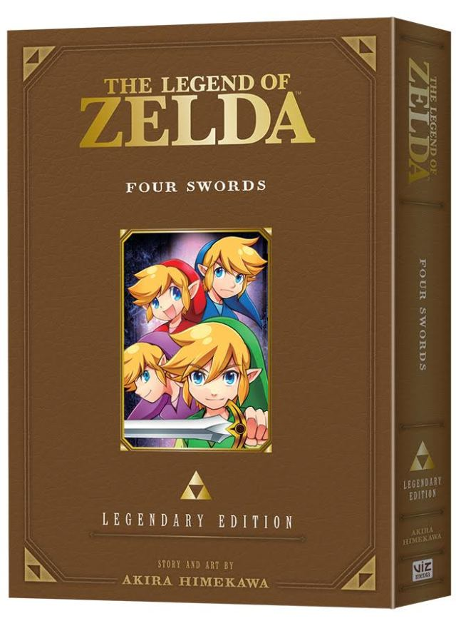 The Legend of Zelda: Four Swords -Legendary Edition- Preorder Now Available