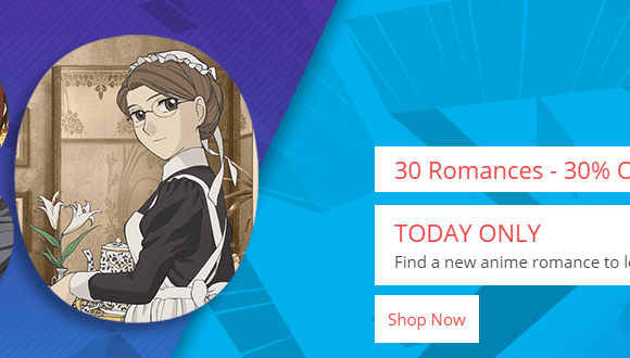 Romance Anime on Sale at RightStuf International