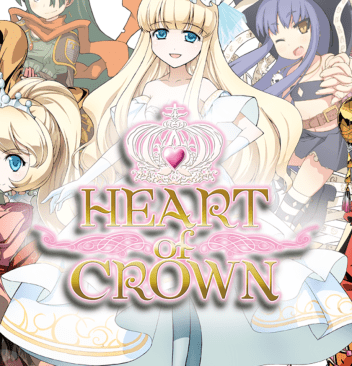 Heart of Crown Anime Deck Building Board Game and Video Game Review