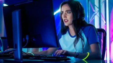 Professional Gamer Girl