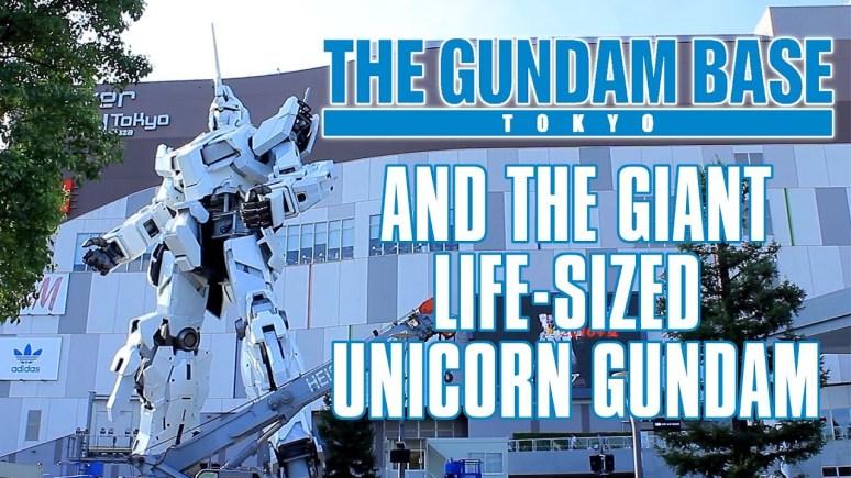Gundam Base Tokyo Japan Life Size Gundam Unicorn