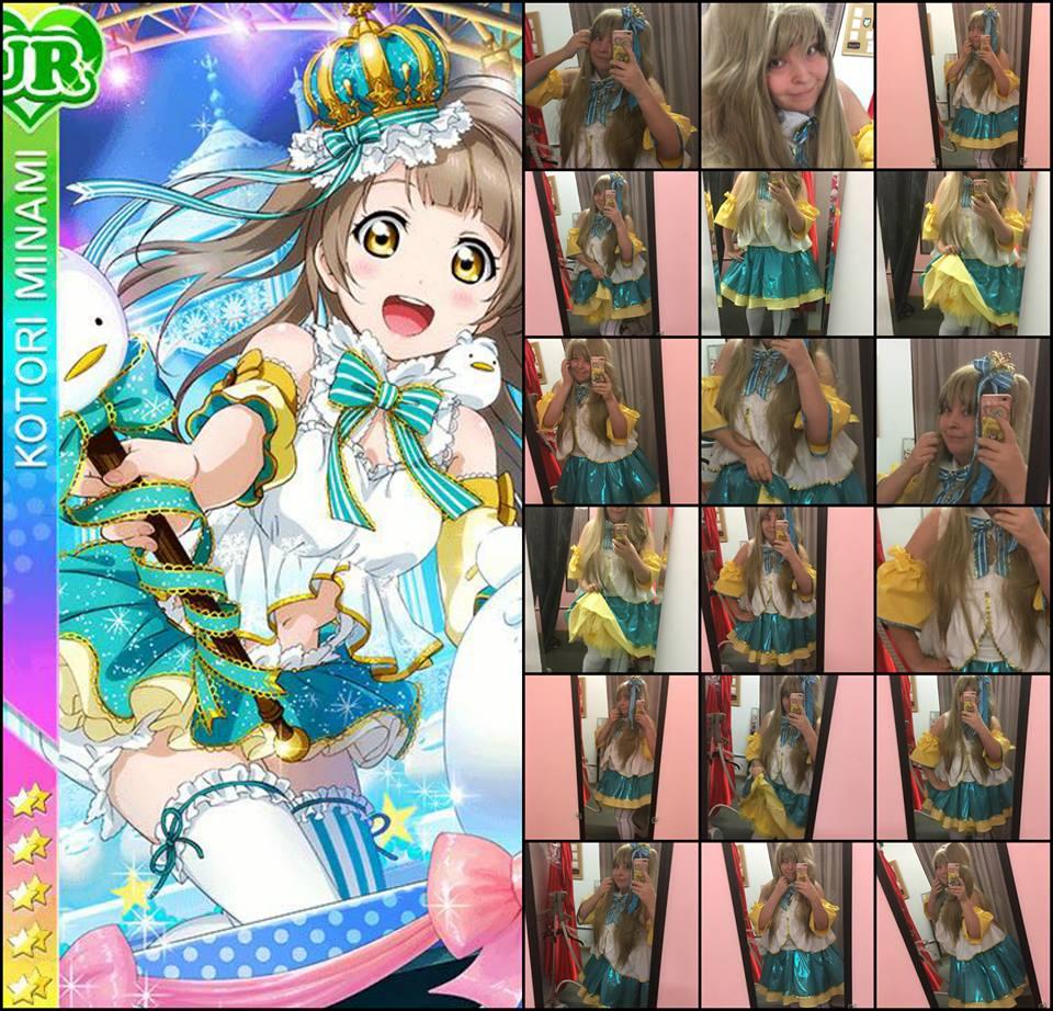 My Love Live School Idol Festival Kotori Minami Snowbird Cosplay Costume