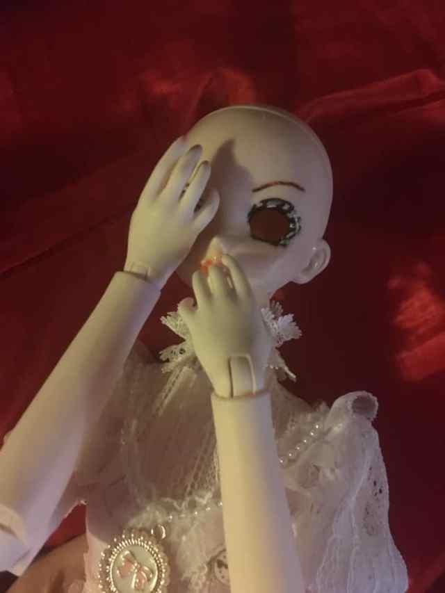 Dollfie Dream DDH10 Semiwhite on White Dream Fairy Body - No Flash