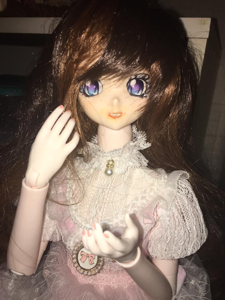 Dollfie Dream DDH10 Semiwhite on White Dream Fairy Body - With Flash