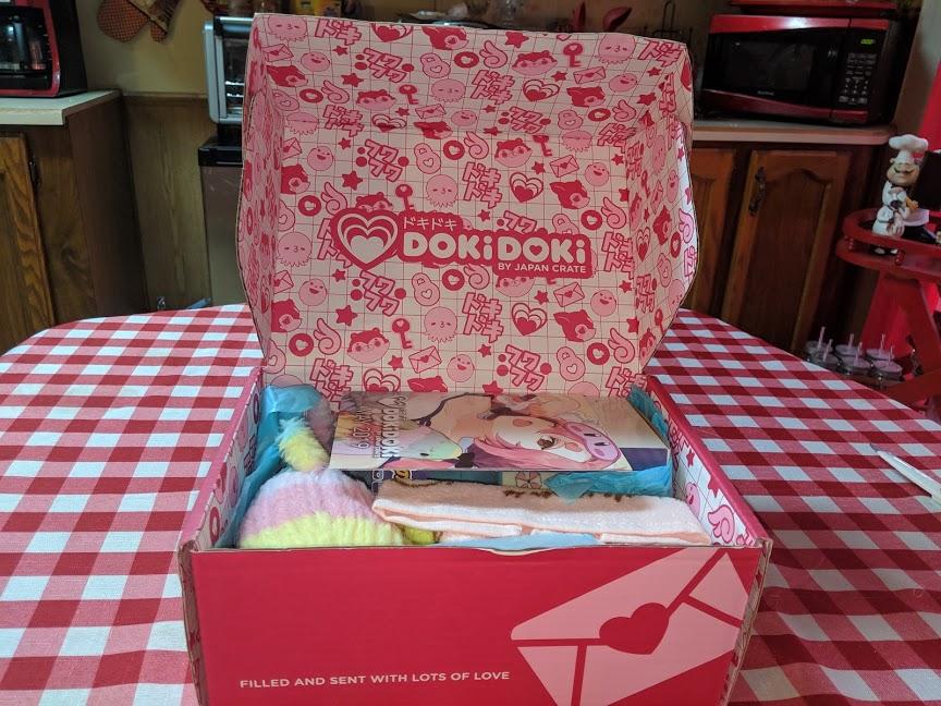Doki Doki May 2019 Crate Unboxing