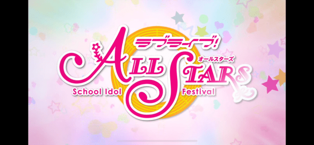 Love Live All Stars Anime Rhythm Game