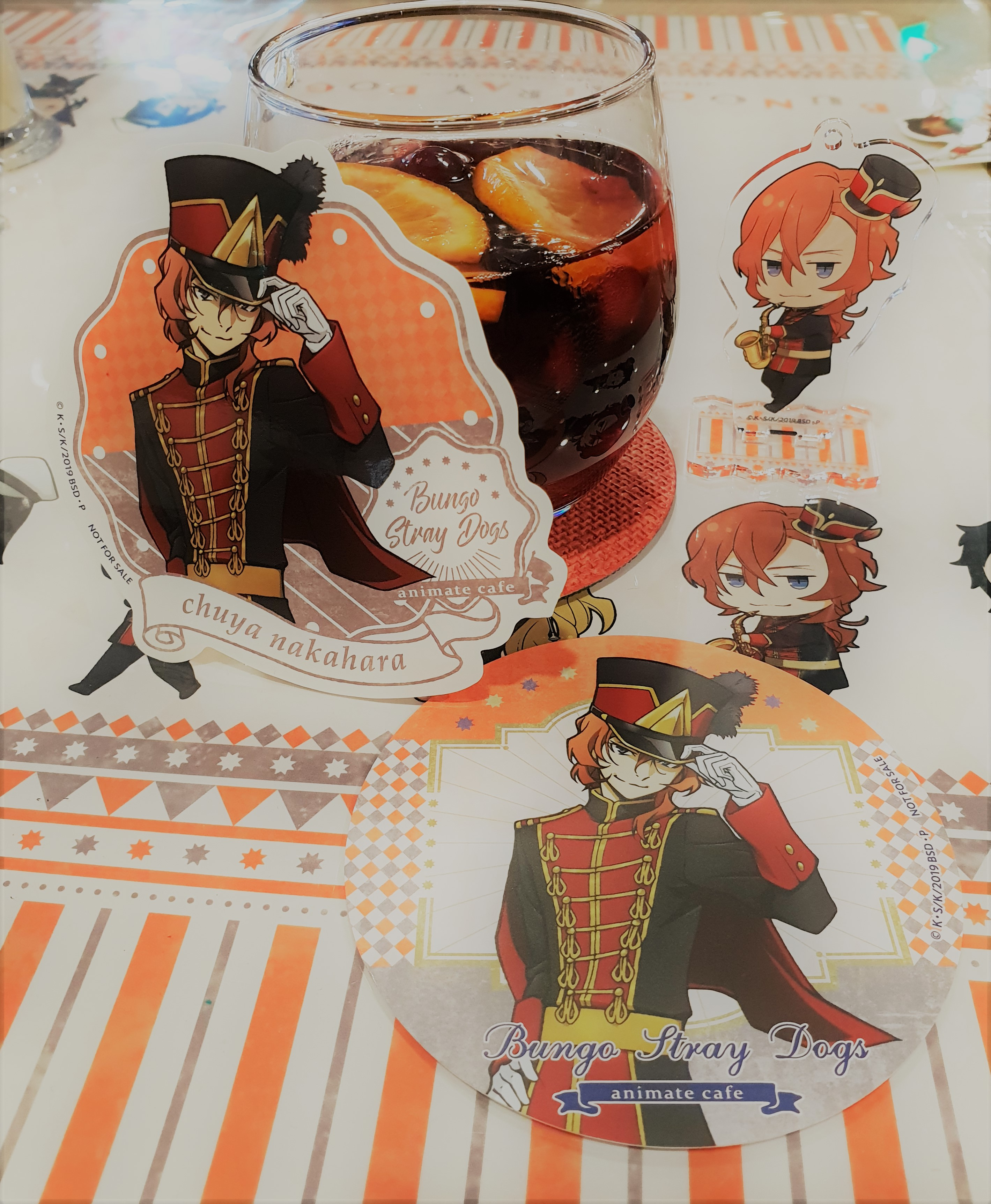 Bungo Stray Dogs 文豪ストレイドッグス x Animate Cafe - Geeky
