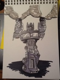 Optimus Prime for my buddy Joe