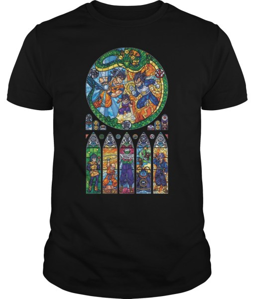 Dragon Ball Stained Glass Shirt
