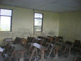 One of the older classrooms before their renovation
