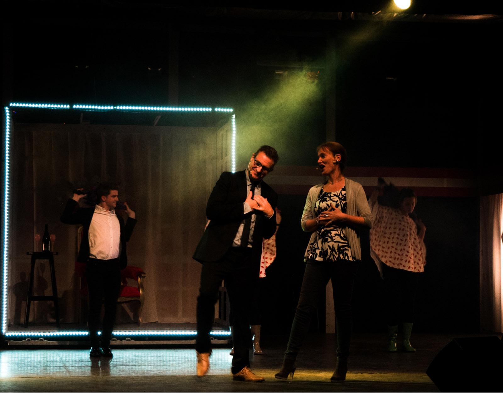 Singing in the rain - De Voljeir - Ann Verté, Harry Philips
