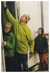 Bouw van onze zaal - Jef Schauwaers en zonen - 't Geels Volkstoneel