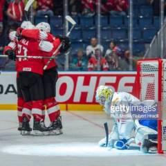 Sveitsi tulitti Italian jäänrakoon MM-kisoissa – Minnesotan NHL-tähti naulasi hattutempun