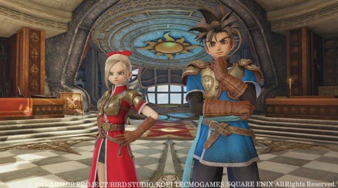 Entrevista sobre Dragon Quest Heroes