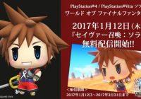 Sora se añadirá como DLC en diciembre en 'World of Final Fantasy'